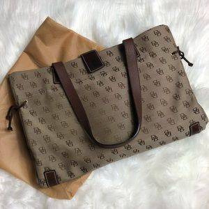 Dooney & Bourke l Signature Brand Canvas Satchel
